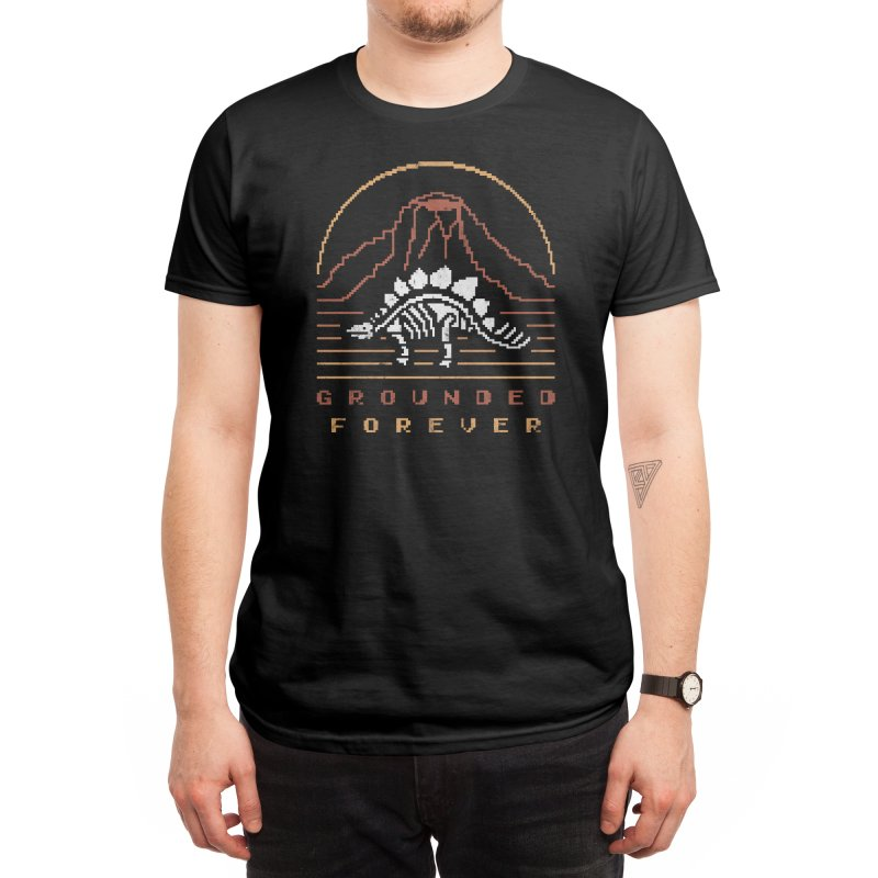 Grounded Forever Men's T-Shirt by Threadless Artist Shop
