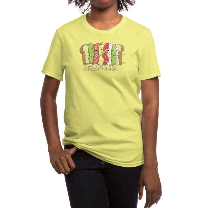 Group Hug Women's T-Shirt by Threadless Artist Shop