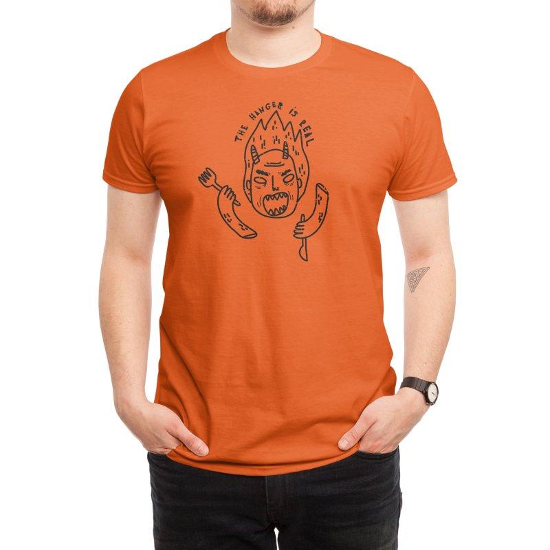 Hangry Monster Men's T-Shirt by Threadless Artist Shop