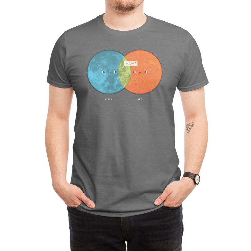 Eclipse Venn Diagram Men's T-Shirt by Threadless Artist Shop