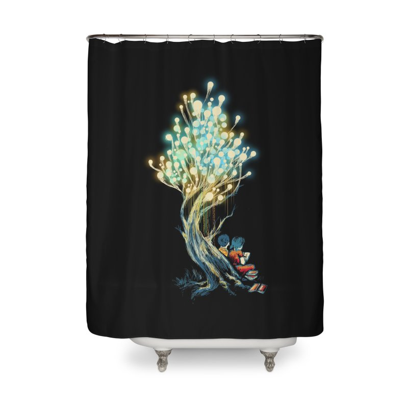 ElectriciTree Home Shower Curtain by Threadless Artist Shop