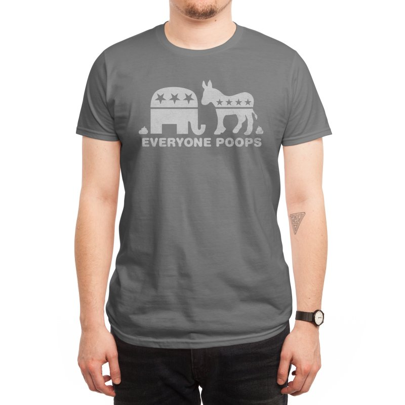 Everyone Poops Men's T-Shirt by Threadless Artist Shop