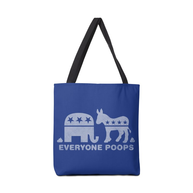 Everyone Poops Accessories Bag by Threadless Artist Shop