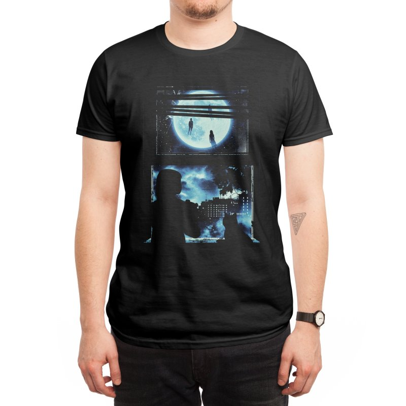 Everyone's Gone to the Moon Men's T-Shirt by Threadless Artist Shop