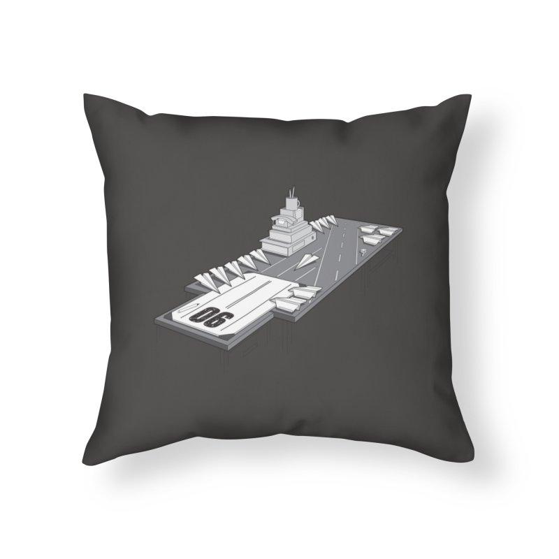 The War Against Work Home Throw Pillow by Threadless Artist Shop