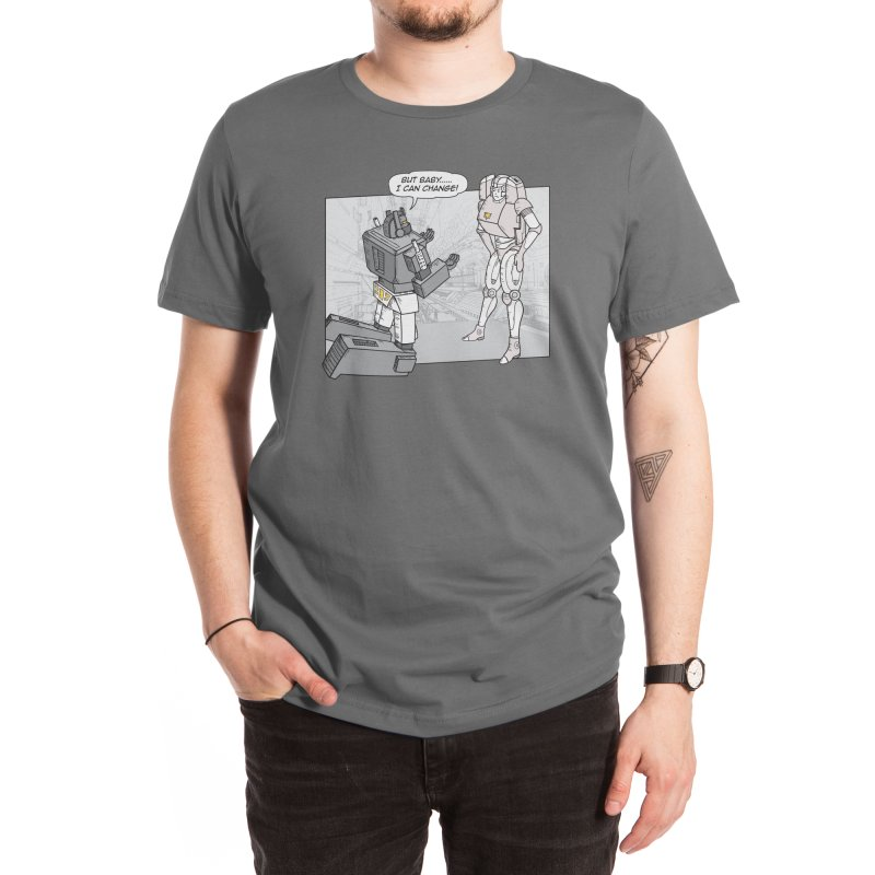 He Can Change Men's T-Shirt by Threadless Artist Shop