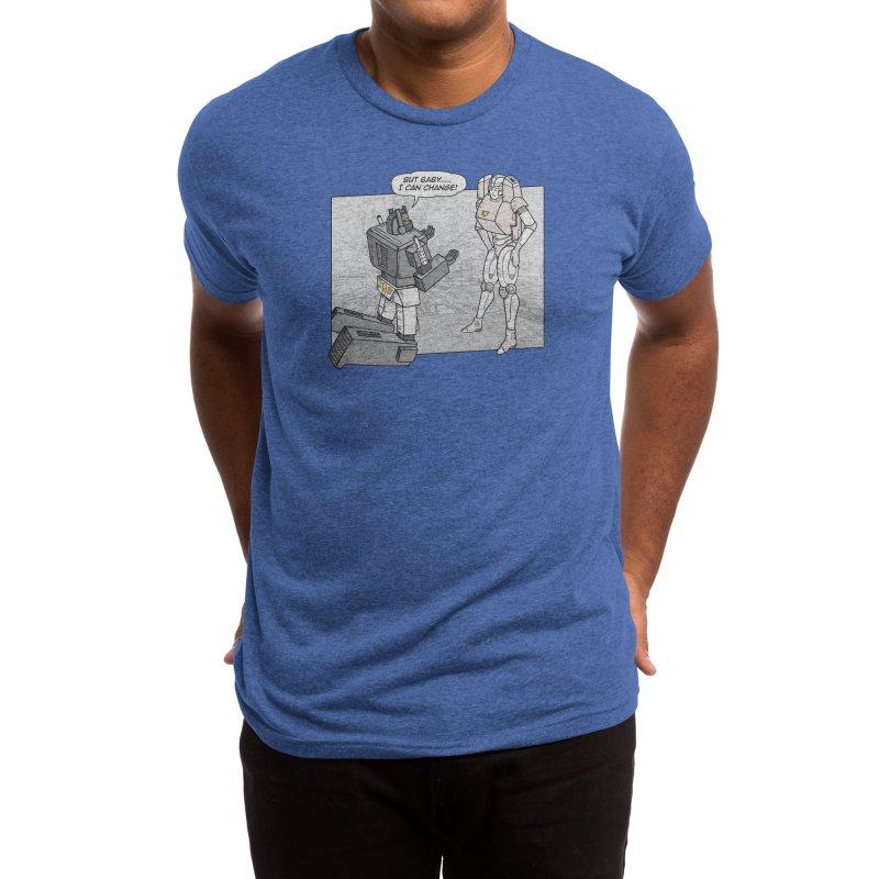 He Can Change Men's T-Shirt by Threadless Artist Shop