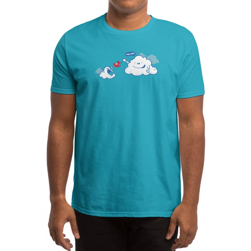 Here Comes the Airplane! Men's T-Shirt by Threadless Artist Shop