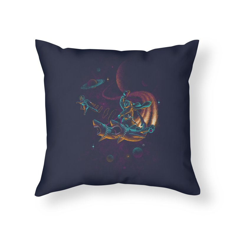 Here Kitty, Kitty, Kitty... Home Throw Pillow by Threadless Artist Shop
