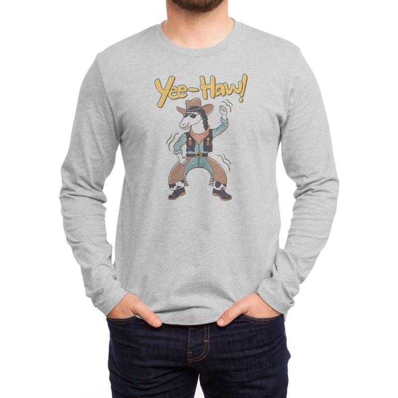 Horsing Around Men's Longsleeve T-Shirt by Threadless Artist Shop