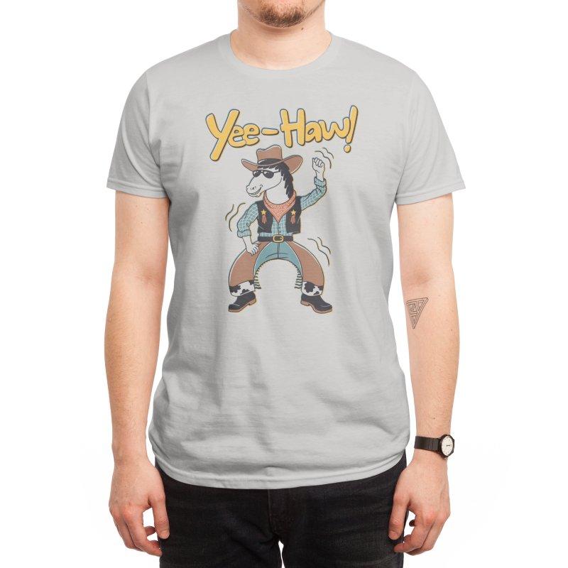 Horsing Around Men's T-Shirt by Threadless Artist Shop