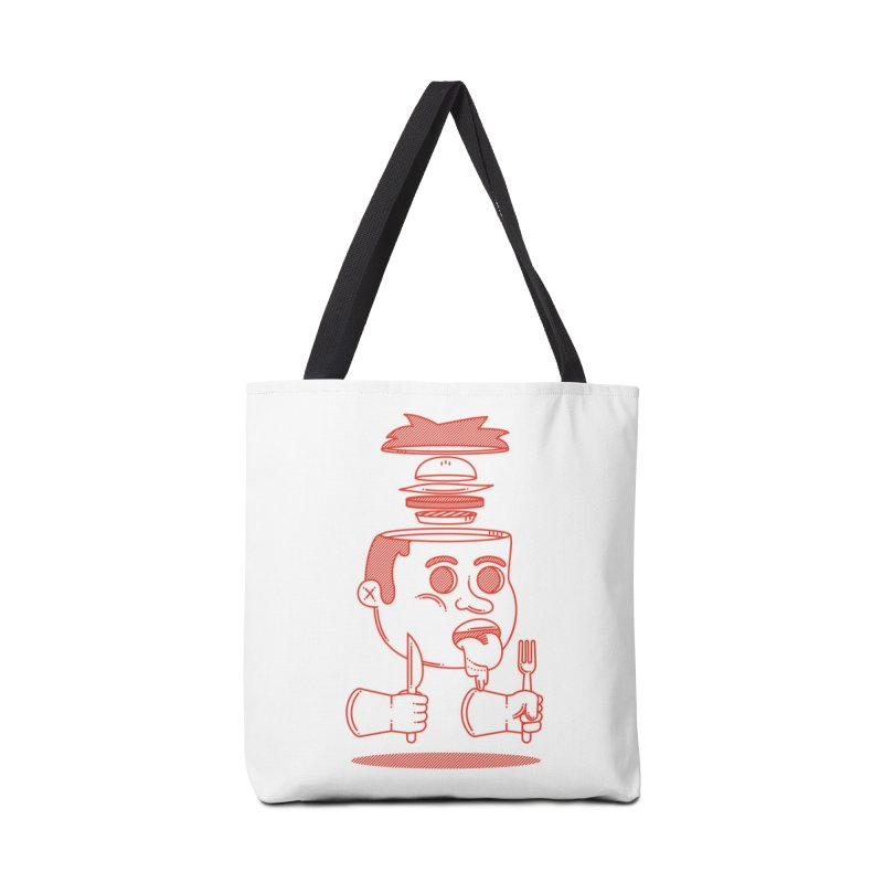 Hungry Accessories Bag by Threadless Artist Shop