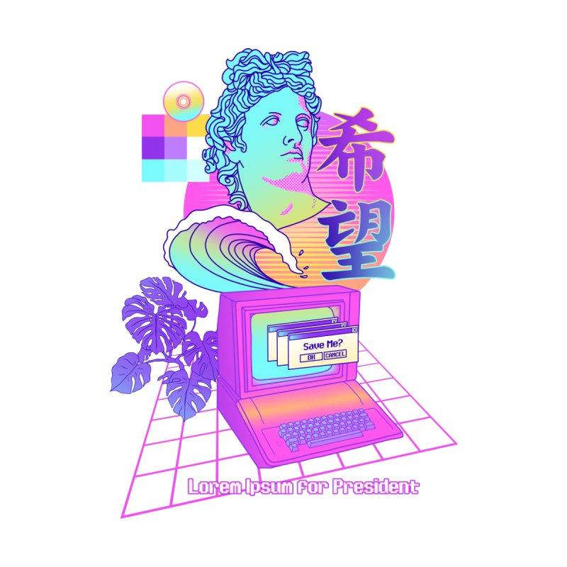 Lorem Ipsum for President Men's T-Shirt by Threadless Artist Shop
