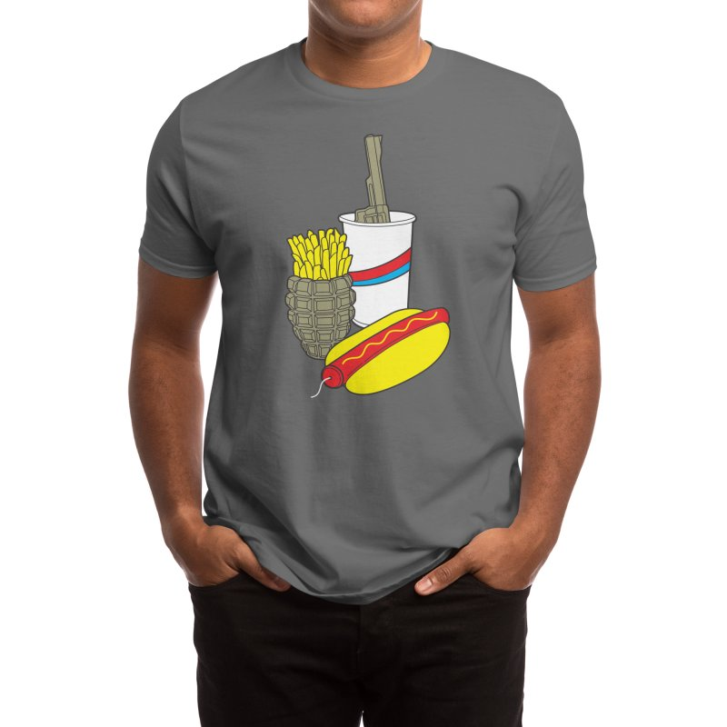 Fast Food Meal Men's T-Shirt by Threadless Artist Shop