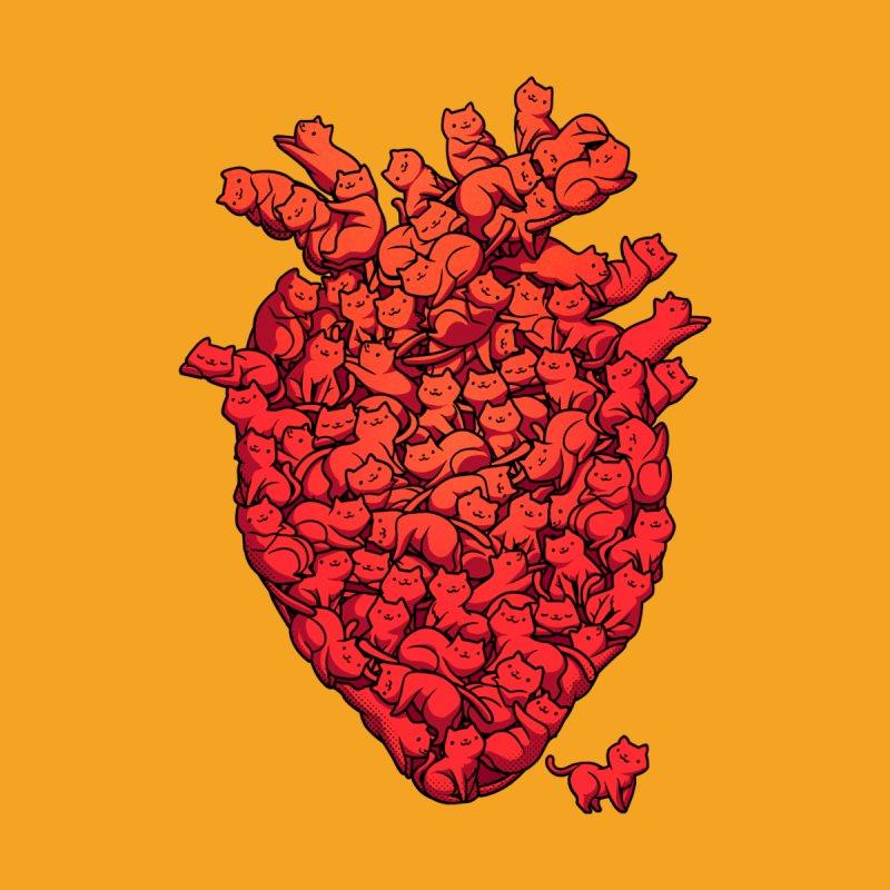 I Love Cat Heart Men's T-Shirt by Threadless Artist Shop