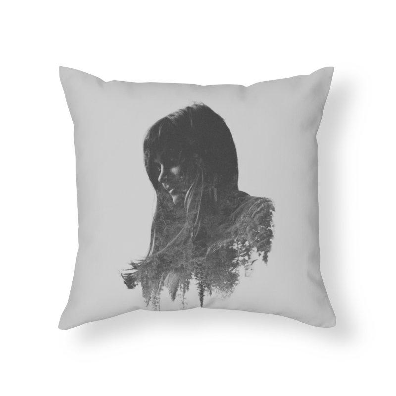 Fauna Home Throw Pillow by Threadless Artist Shop
