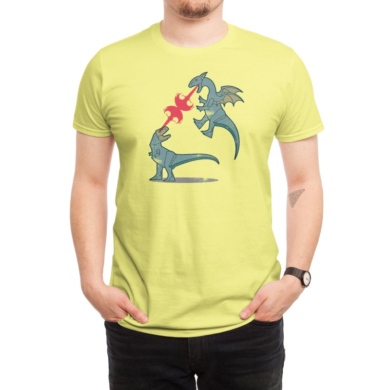 Fight - Dion Young Men's T-Shirt by Threadless Artist Shop