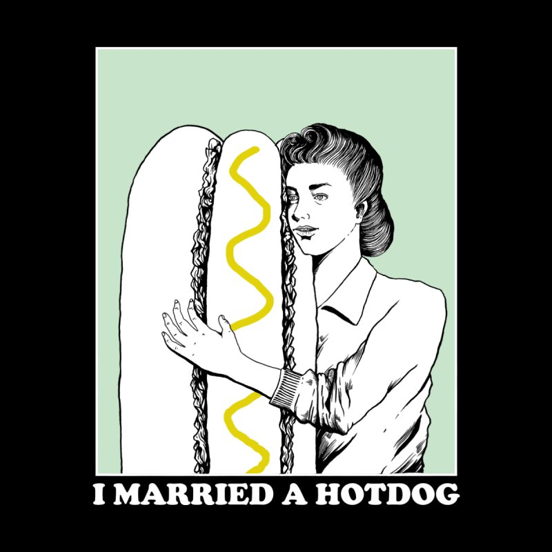 I married a hotdog Men's T-Shirt by Threadless Artist Shop