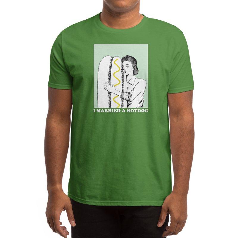 I married a hotdog Men's T-Shirt by Threadless Artist Shop