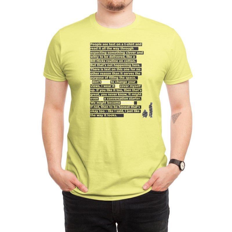 I Want To Be Friends Men's T-Shirt by Threadless Artist Shop
