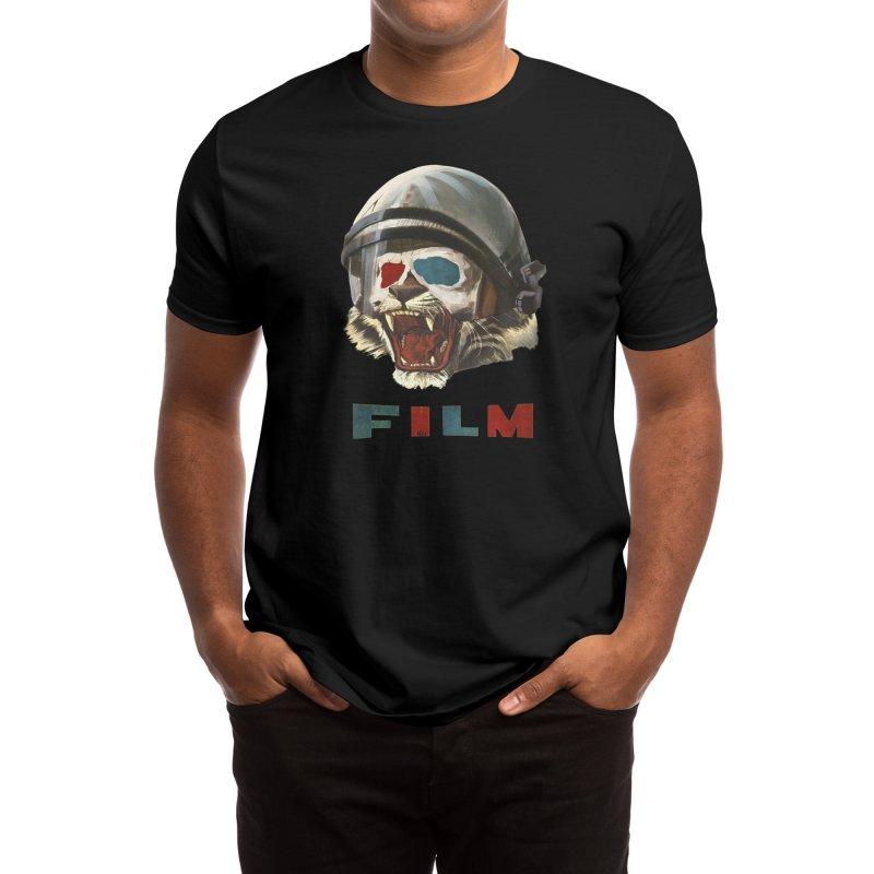 Film Tiger Men's T-Shirt by Threadless Artist Shop