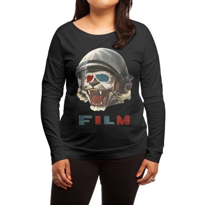 Film Tiger Women's Longsleeve T-Shirt by Threadless Artist Shop