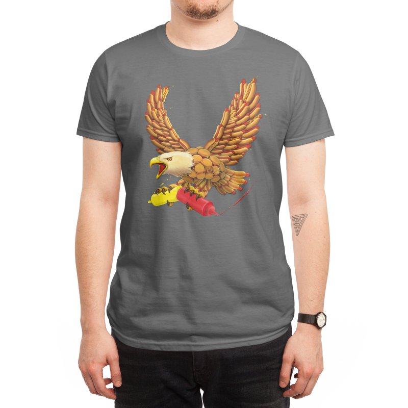 FIRE IT UP! Men's T-Shirt by Threadless Artist Shop