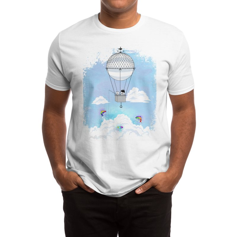 Fishing for Rainbow Trout Men's T-Shirt by Threadless Artist Shop