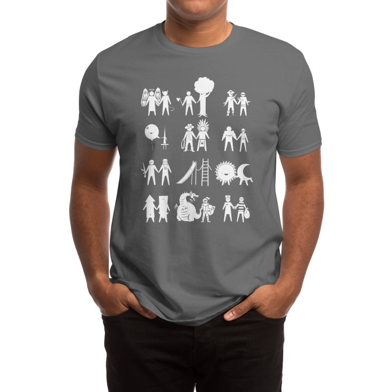Frenemies Men's T-Shirt by Threadless Artist Shop