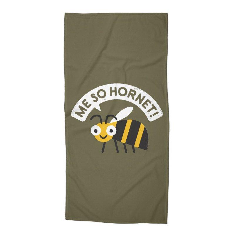 Full Metal Yellow Jacket Accessories Beach Towel by Threadless Artist Shop