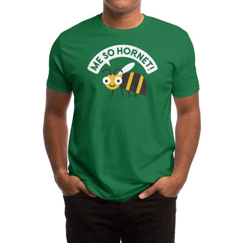 Full Metal Yellow Jacket Men's T-Shirt by Threadless Artist Shop