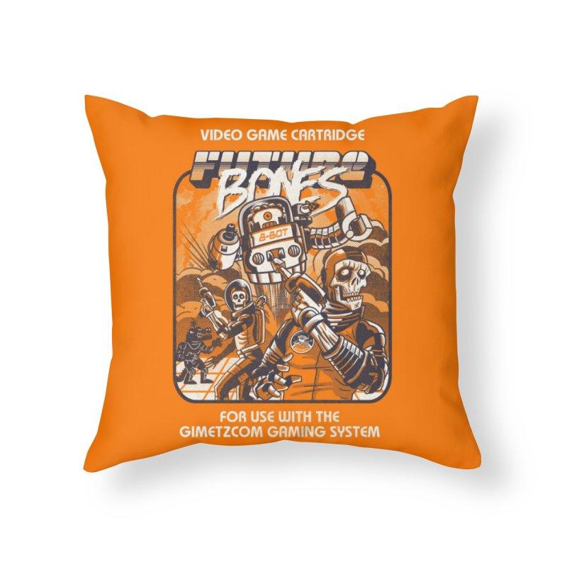 Future Bones Home Throw Pillow by Threadless Artist Shop