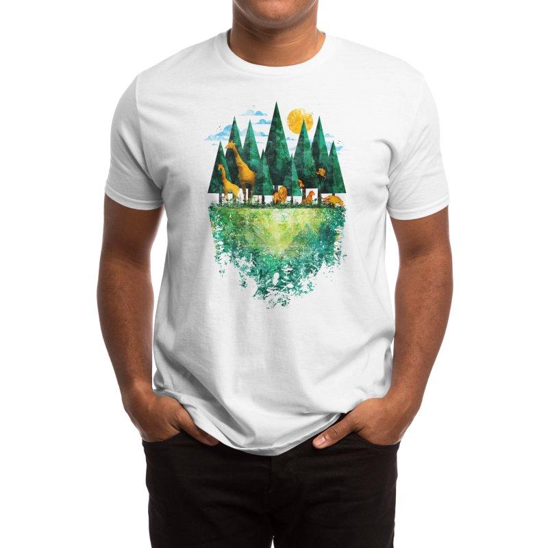Geo Forest Men's T-Shirt by Threadless Artist Shop