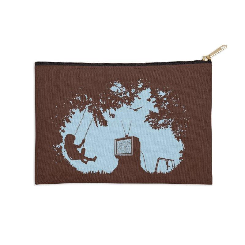 Get Some Fresh Air Accessories Zip Pouch by Threadless Artist Shop
