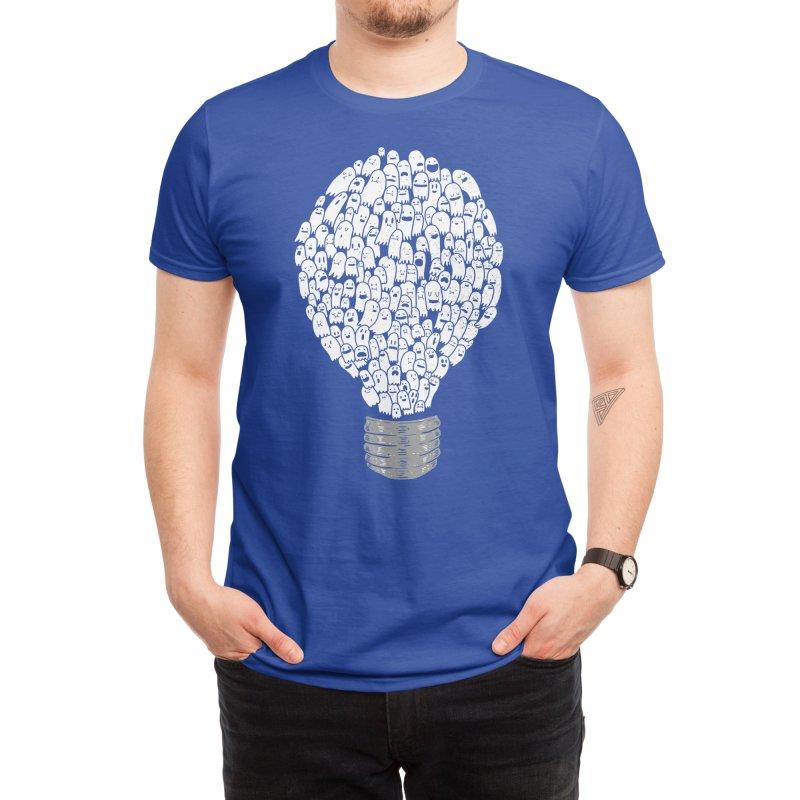 Ghost Bulb Men's T-Shirt by Threadless Artist Shop