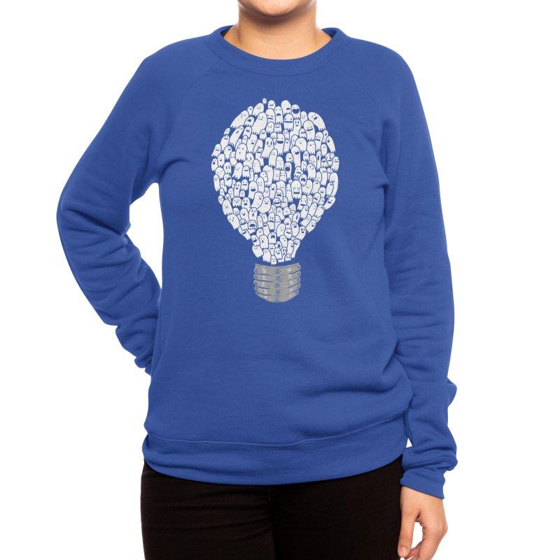 Ghost Bulb Women's Sweatshirt by Threadless Artist Shop