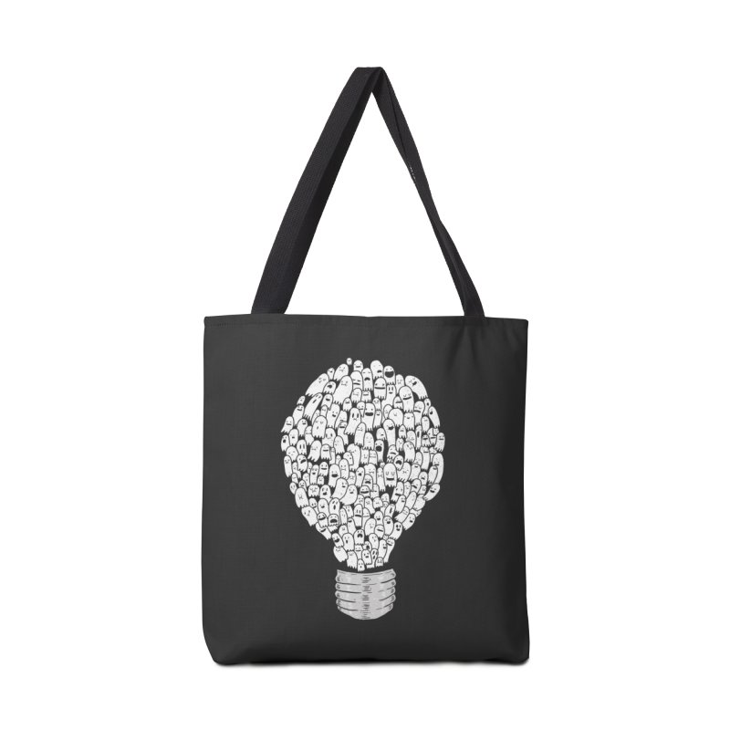 Ghost Bulb Accessories Bag by Threadless Artist Shop