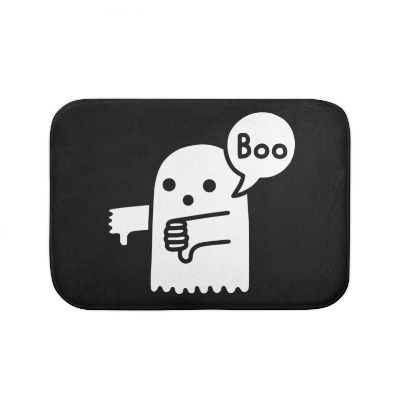 Ghost Of Disapproval Home Bath Mat by Threadless Artist Shop