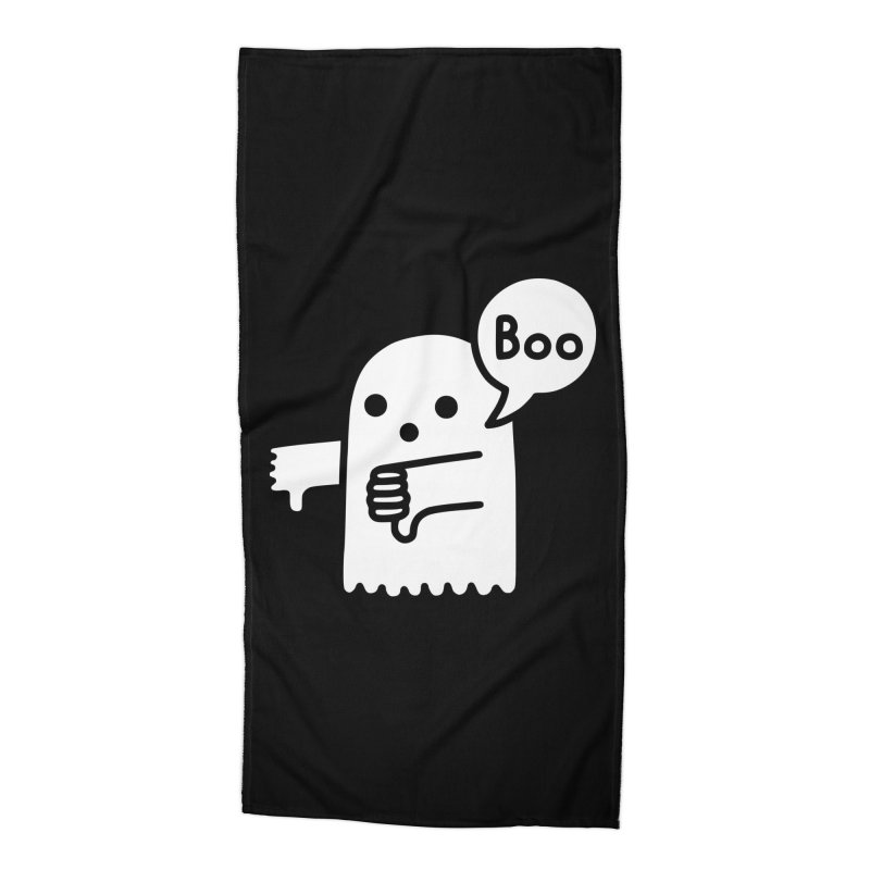 Ghost Of Disapproval Accessories Beach Towel by Threadless Artist Shop