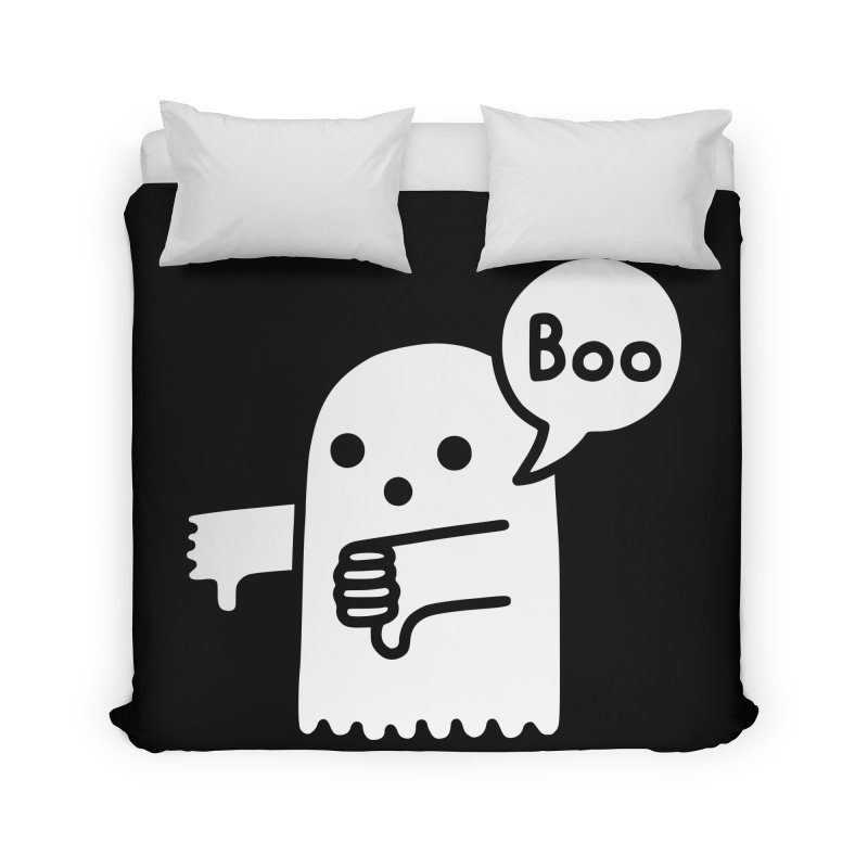 Ghost Of Disapproval Home Duvet by Threadless Artist Shop