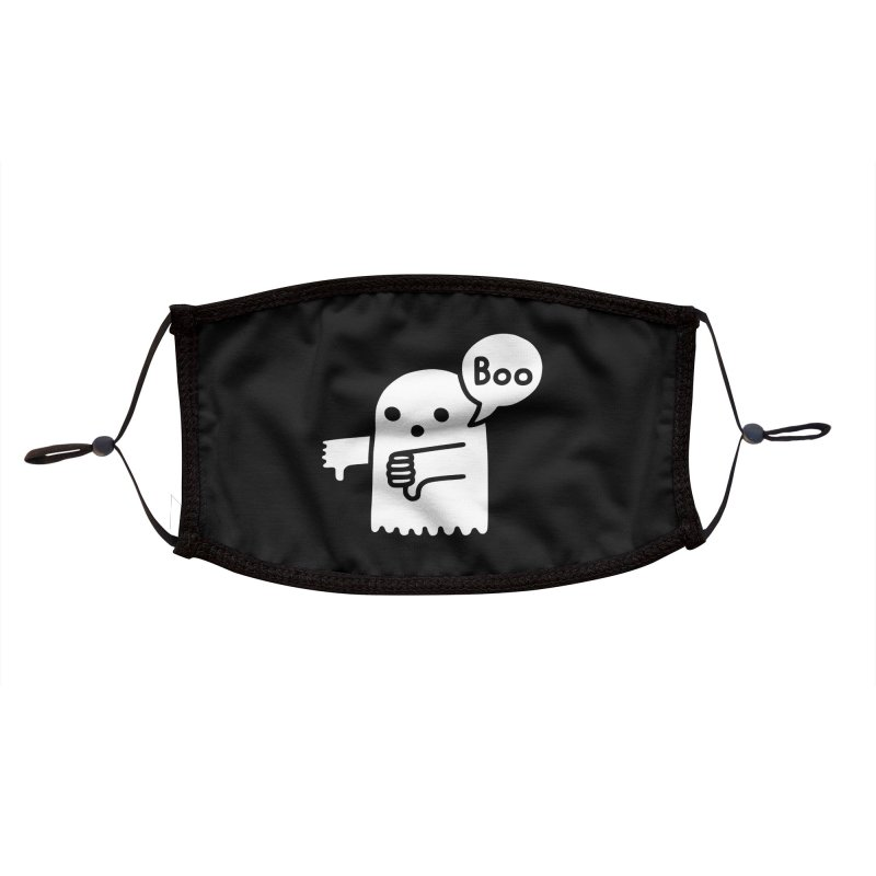 Ghost Of Disapproval Accessories Face Mask by Threadless Artist Shop