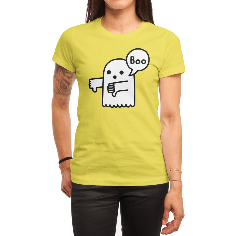 Ghost Of Disapproval Women's T-Shirt by Threadless Artist Shop