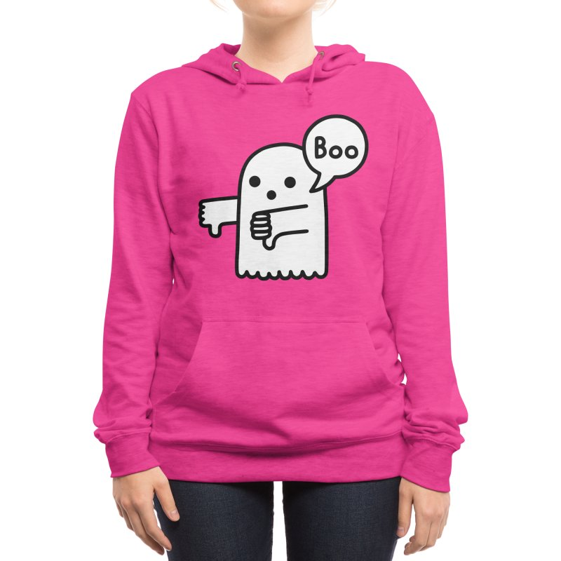Ghost Of Disapproval Women's Pullover Hoody by Threadless Artist Shop