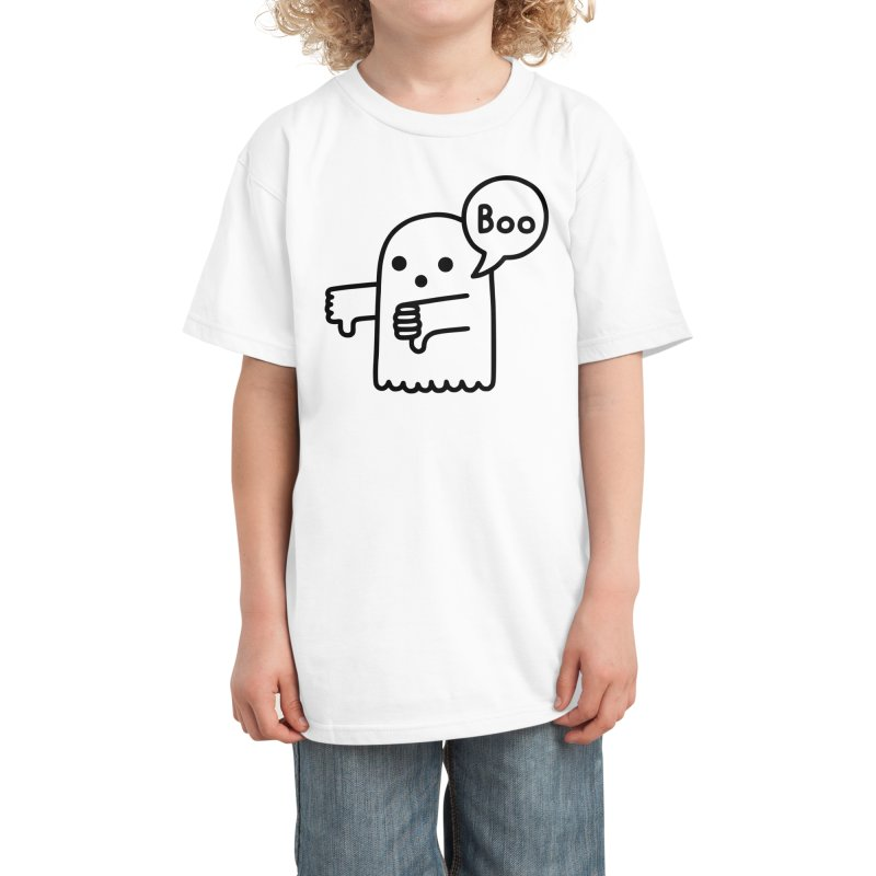 Ghost Of Disapproval Kids T-Shirt by Threadless Artist Shop