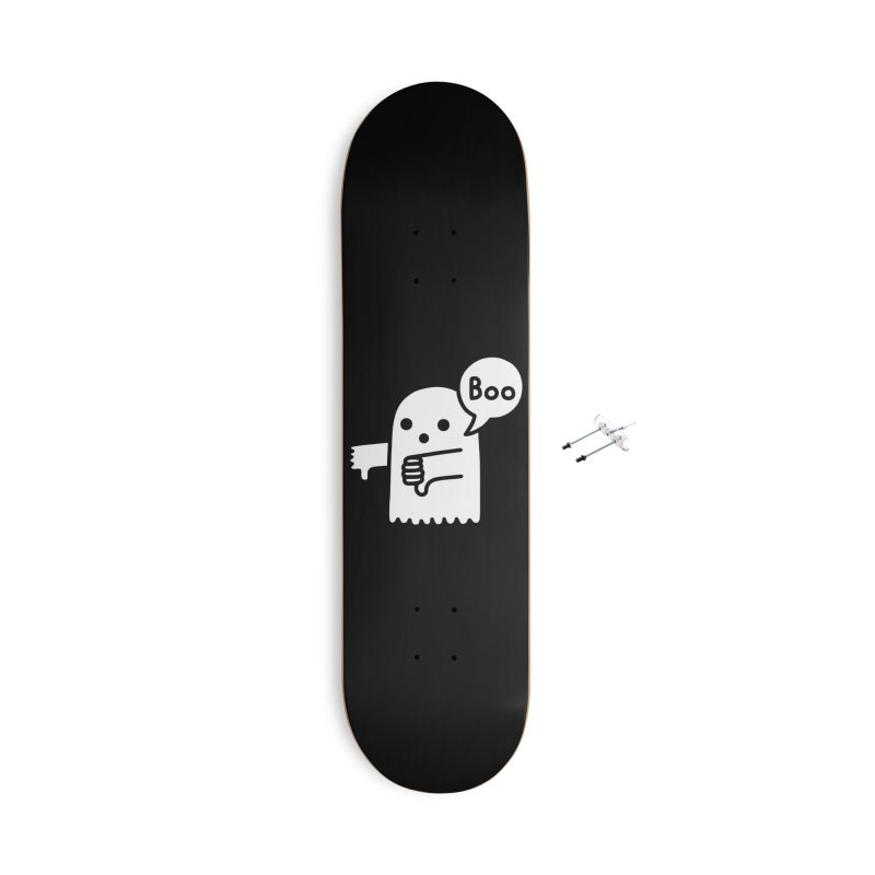 Ghost Of Disapproval Accessories Skateboard by Threadless Artist Shop