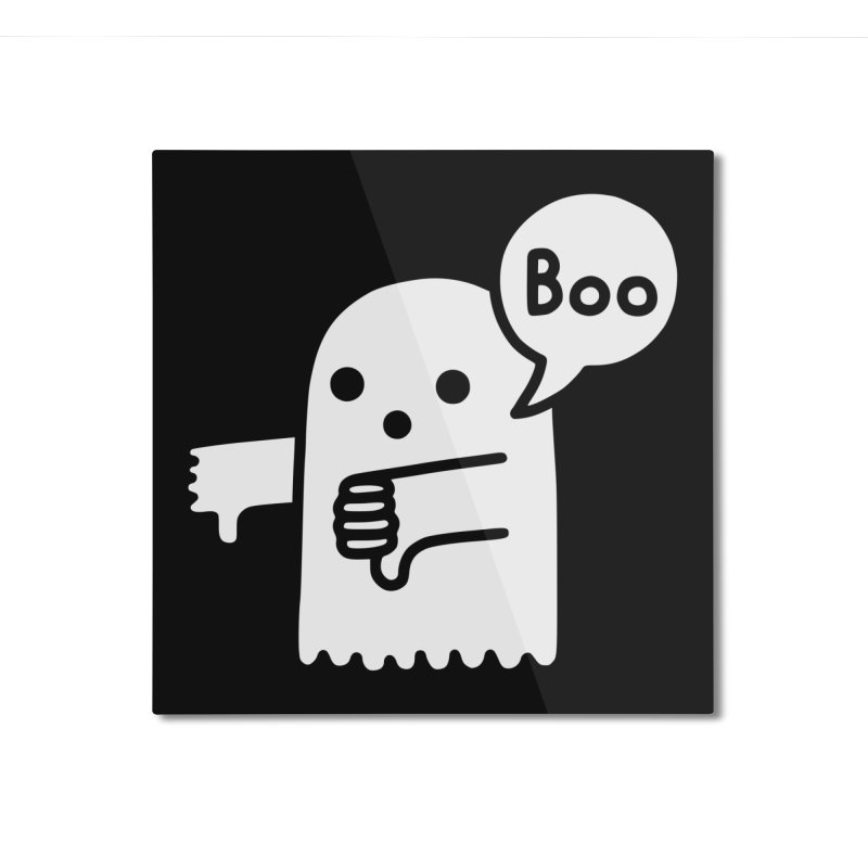 Ghost Of Disapproval Home Mounted Aluminum Print by Threadless Artist Shop