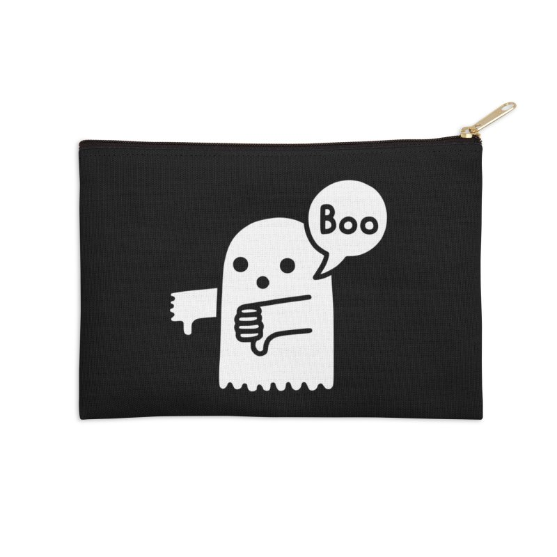 Ghost Of Disapproval Accessories Zip Pouch by Threadless Artist Shop