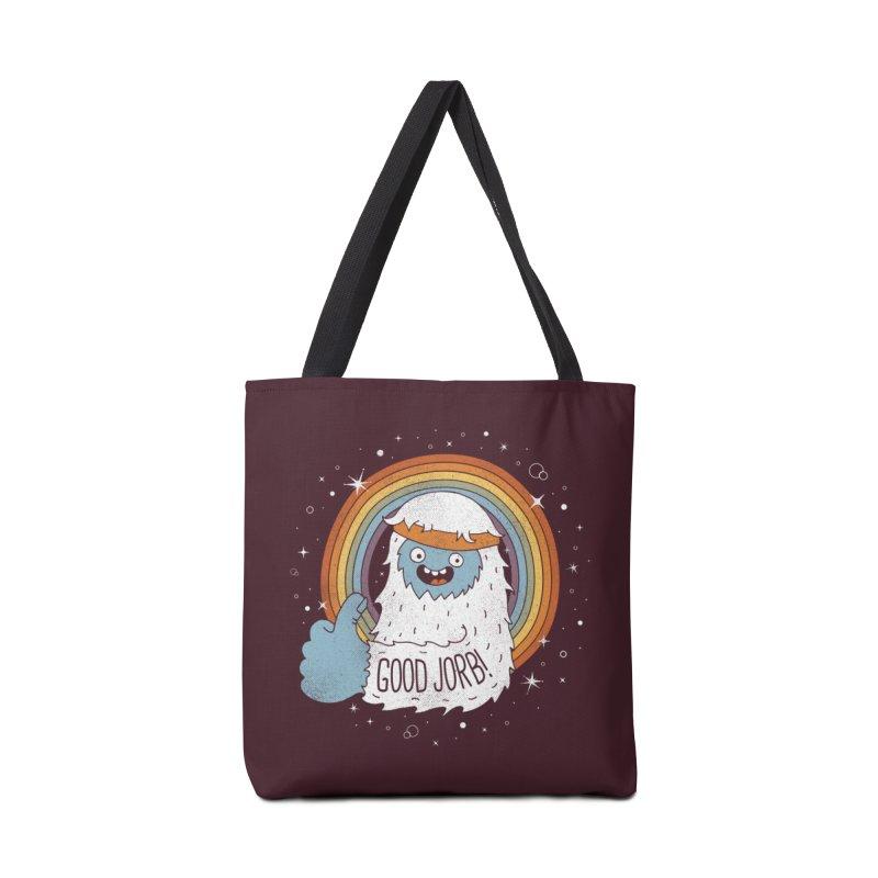 GOOD JORB! Accessories Bag by Threadless Artist Shop