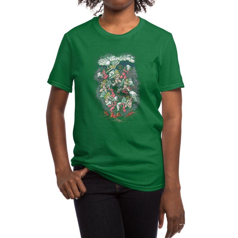 Good vs. Evil Women's T-Shirt by Threadless Artist Shop