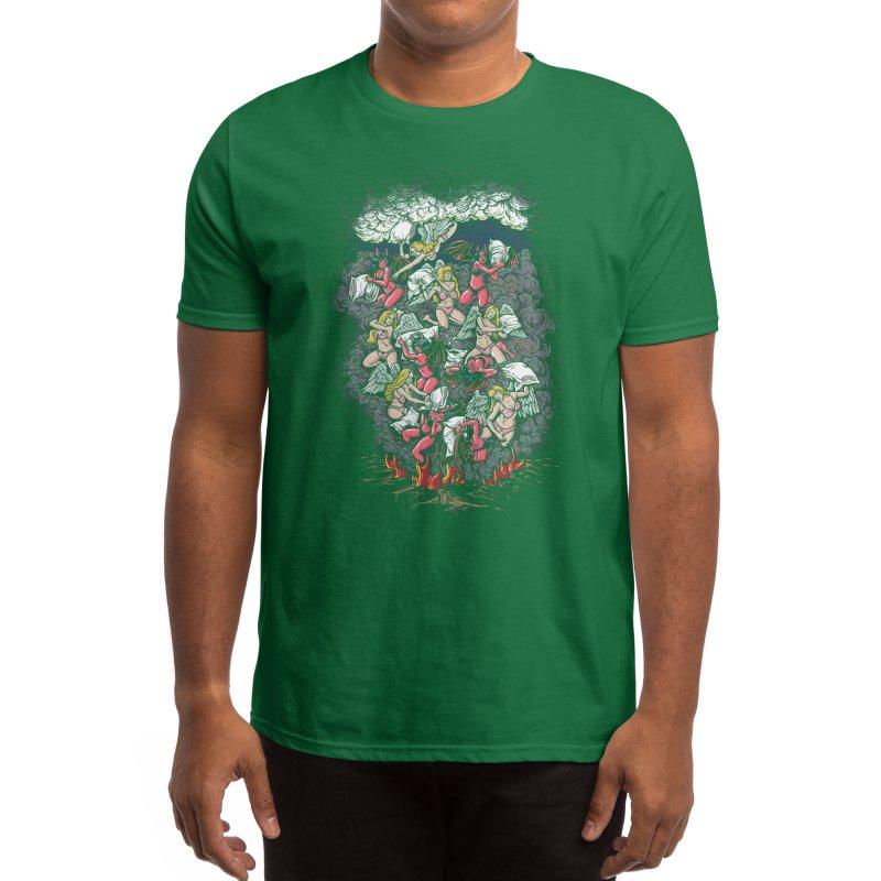 Good vs. Evil Men's T-Shirt by Threadless Artist Shop